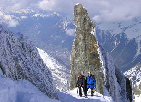 Winter mountaineering: technical level 3