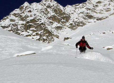 Ski mountaineering: technical level 2