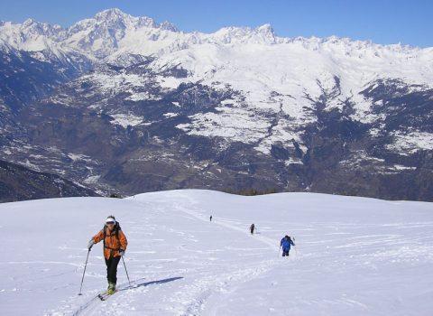 Ski mountaineering: technical level 3